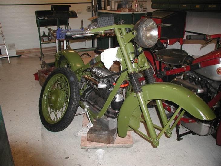 militær motorcykel