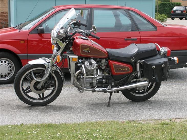Honda Cx 500 Customer Til Salg 1981 En Virkelig