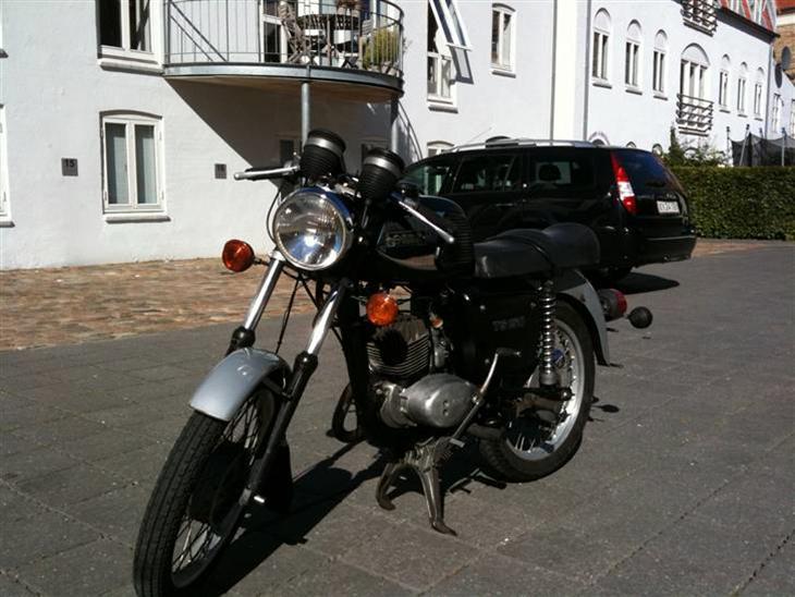 mz ts 150 1988 nr 2 motorcykel eller hvad. Black Bedroom Furniture Sets. Home Design Ideas