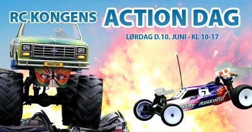 Løb hos RC Kongen 10 juni og besøg af Monster Truck