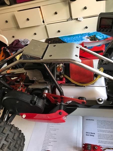 Hvordan tuner man en rovan benzin buggy 5B