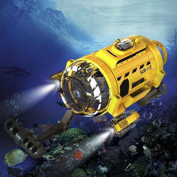 RC Submarine m. cam.