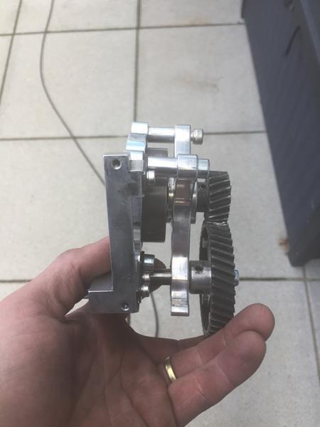 Problem med montering af Fg motor
