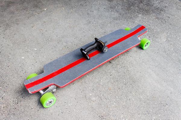 komponenter til et elektrisk longboard?