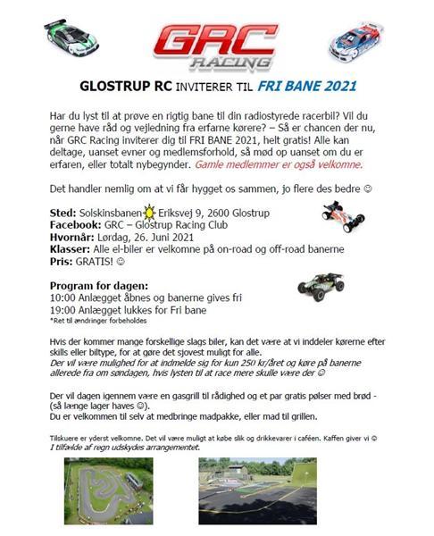 Så er der fri bane i Glostrup!