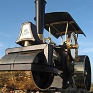 Maskiner :Vilesco Damptromle.