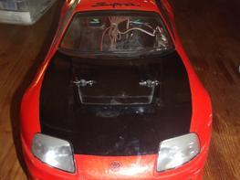 Bil Tamiya TT-01 Toyota Supra