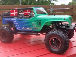 Off-Roader Axial SCX 10 Jeep