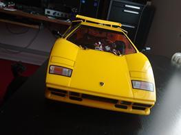 Bil Tamiya TT-01E Lamborghini Countach