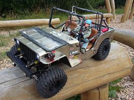 Bil G-Made Sawback Jeep