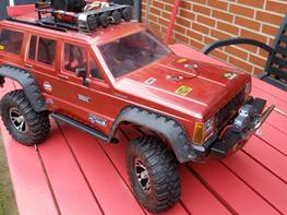 Bil Axial SCX 10 Jeep