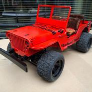 Bil JJRC Q65 Jedi - Willy's Jeep 4 WD