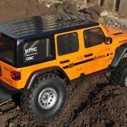 Truck SCX10-III - Jeep Wrangler Rubicon JLU - kit