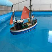 Båd Playmobil fiskekutter