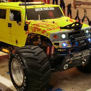 Bil Fg Hummer monster truck 2wd