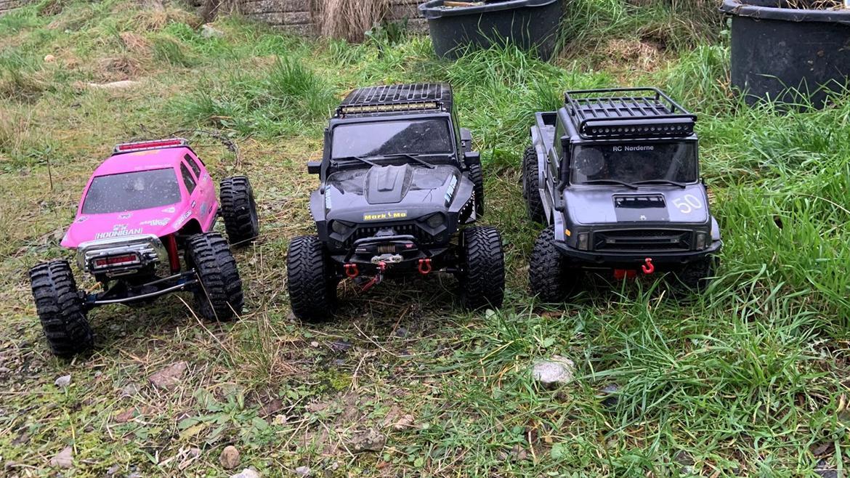 Off-Roader traction hobby Founder II billede 7