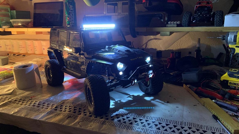 Off-Roader traction hobby Founder II billede 2