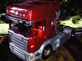 Lastbiler Scania R620 V8 Topline