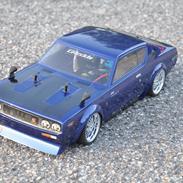 Bil Tamiya TT-01 Skyline 2000