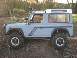 Off-Roader trail finder RC4WD /Land Rover
