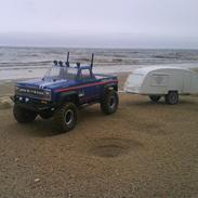 Off-Roader Scx 10 chevrolet k10 pickup