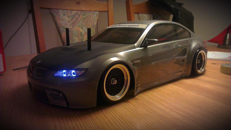 Bil TT-01E BMW M3 E92 billede 14