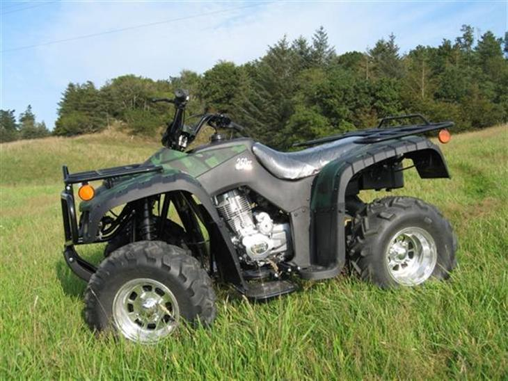 atv 250cc til salg