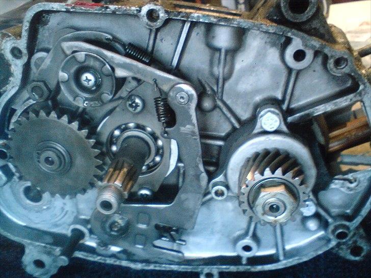 Renovere starter motor
