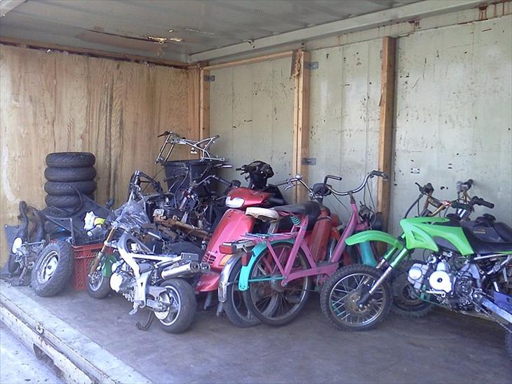 Se min GARAGE INDHOLD - Pgo-Gilera-Piaggio-Vespa-Velo-Honda-Atv-Crosser - Diverse scooter ...