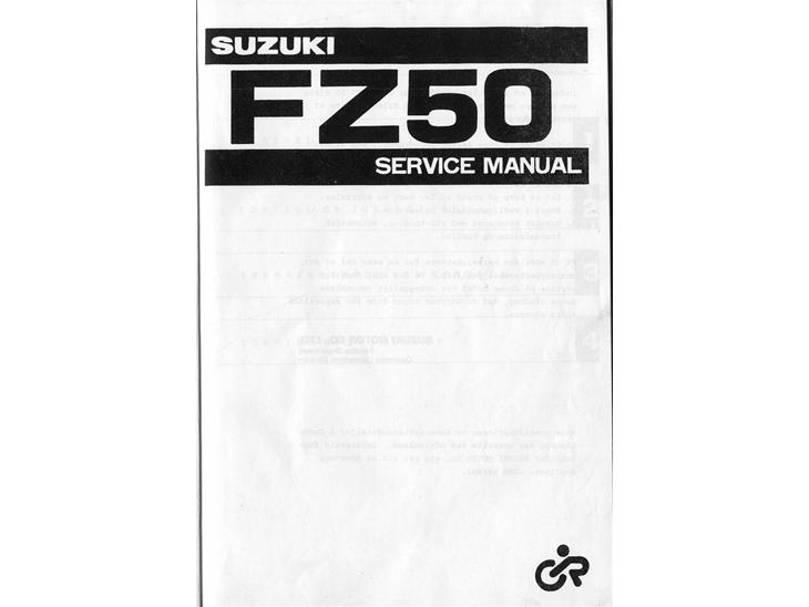 suzuki fz50 service manual - guider