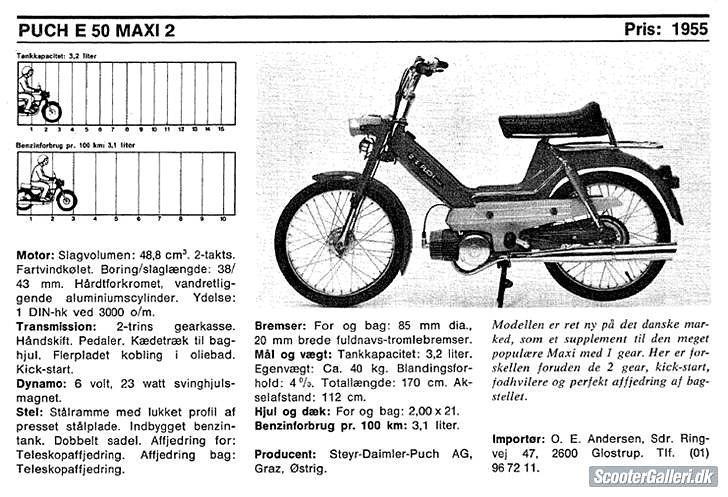 Puch maxi 2 gear