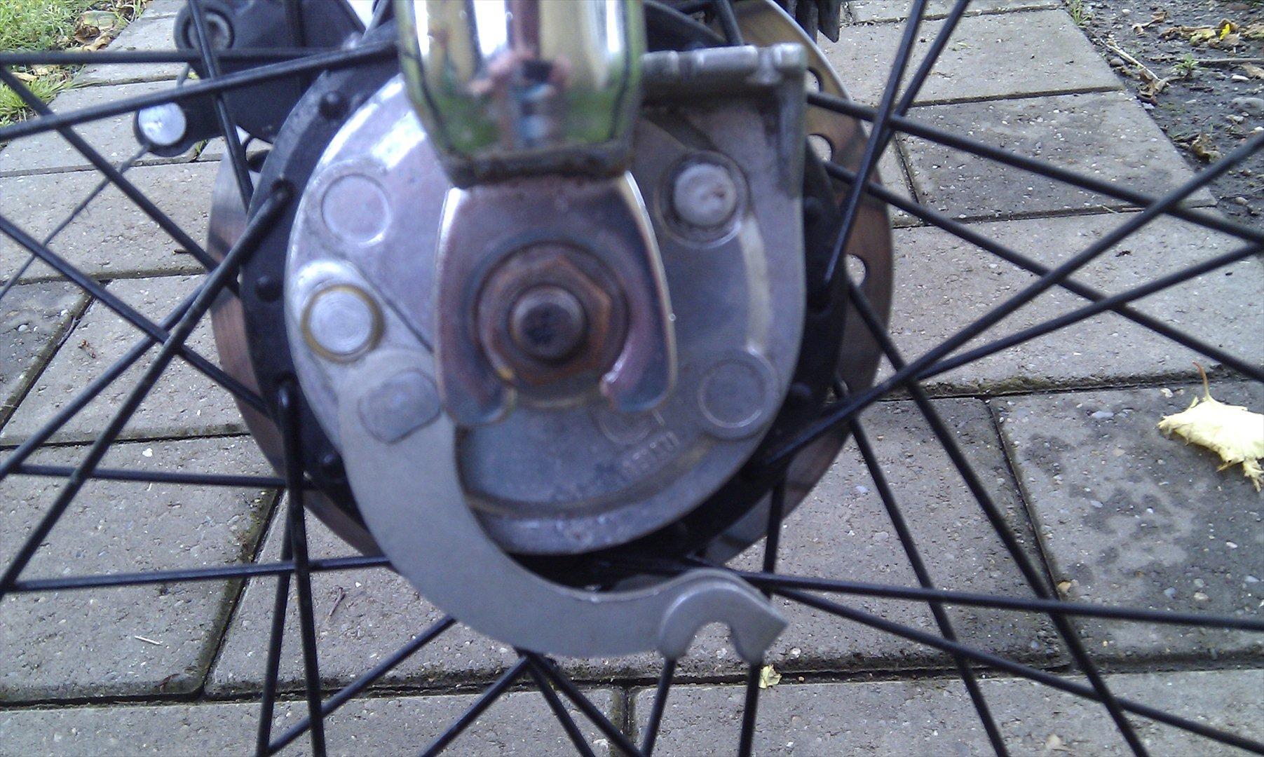 Motorradzubehör Aufkleber Embleme Fahnen Puch Maxi Bremse