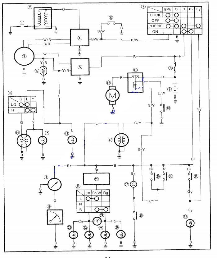 Yamaha Jog Wiring Diagram Wiring Diagram And Schematics