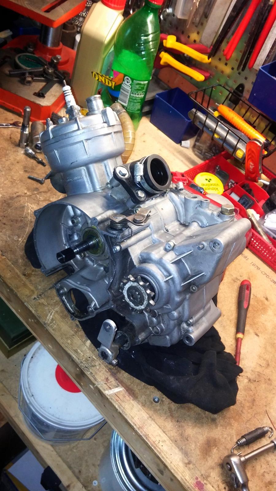am6 motor - Tuningprojekter - Fotos fra MK - TUNING