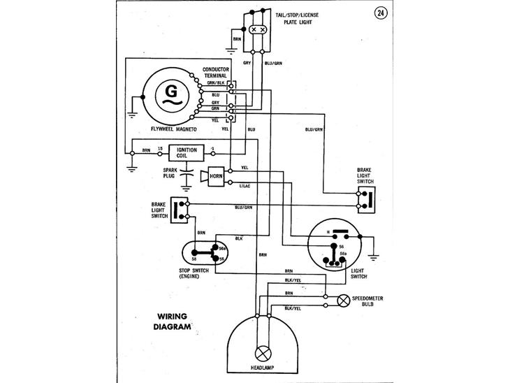 ledningsdiagram puch maxi - guider