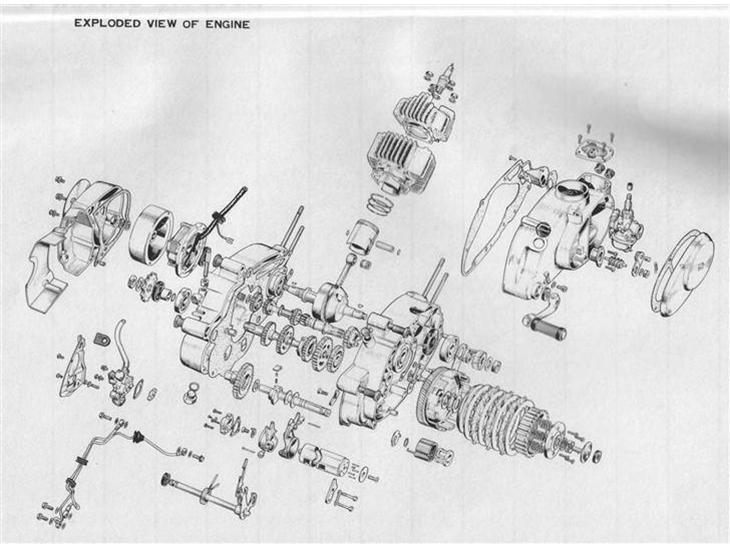 pgo 50 motor tegning reng 248 ring v 230 relser