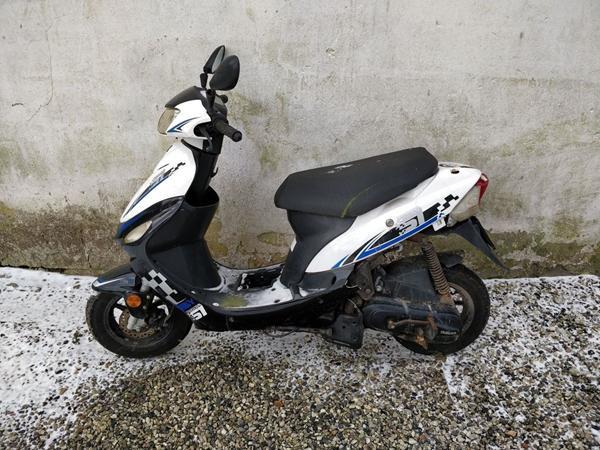 Gammel Scooter