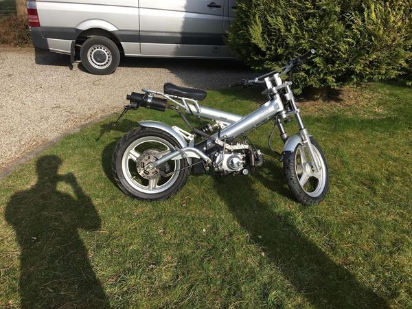 Scooter Olie til Honda Sacha Madass 50cc, 4 gear