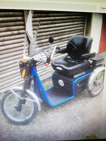 3 hjulet scootere / invalidescooter - Regler