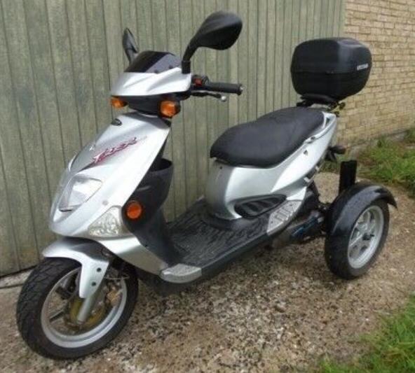 Pgo Tr3 til Normal scooter