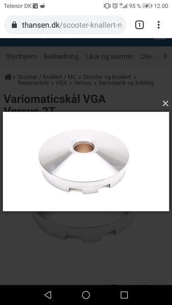 Knækket Vario skål