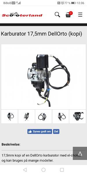 17,5mm kopi fra scooter land. Dk??