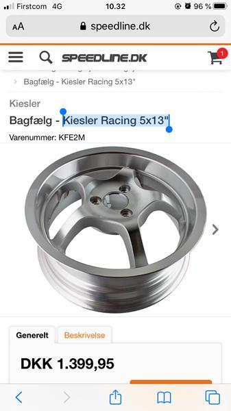 "Kiesler Racing 5x13"""