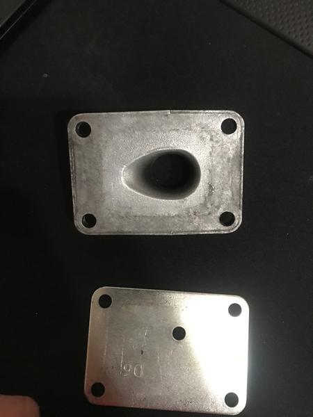 begrænser plade v studs/membran