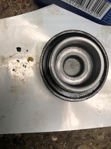 Splinter i olie proppen
