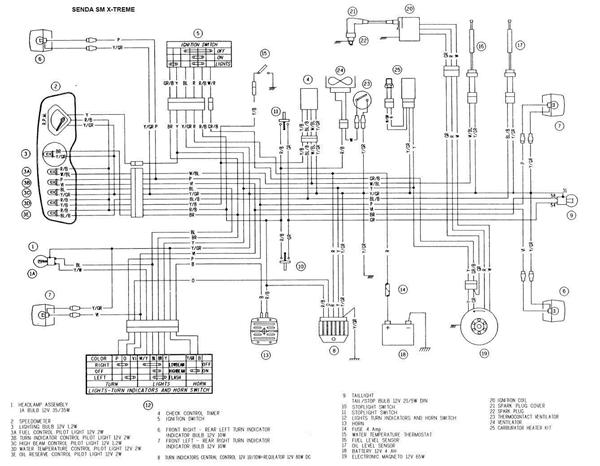 Derbi Senda Wiring Diagram on 50cc Scooter Cdi Wiring Diagram