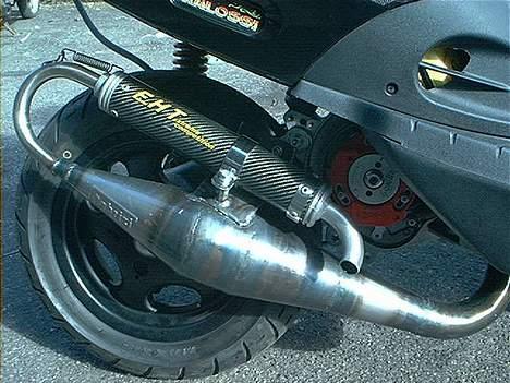 Piaggio Zip SP LC Solgt - Den originale Fabrizi lyddæmper. billede 10