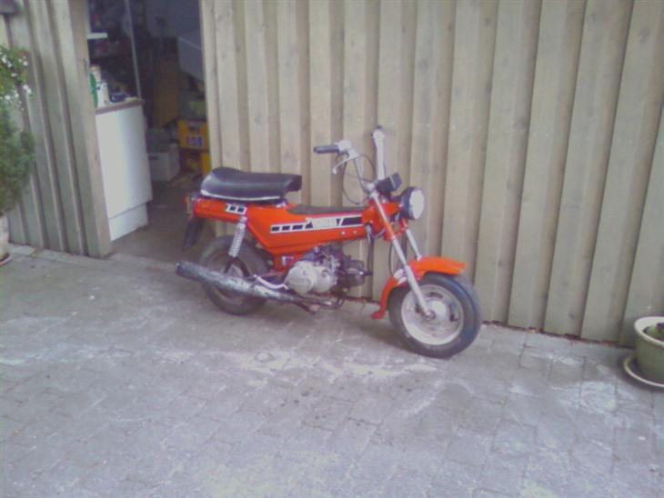 Yamaha bop solgt 1978 meget sj lden knallert for Yamaha mox8 specs