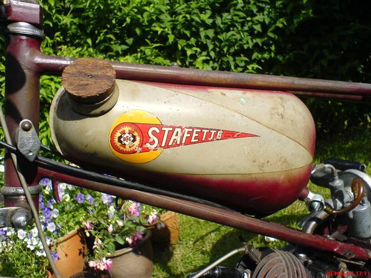 Veteraner BFC Stafette - Mangler orginal benzin dæksel ! billede 5
