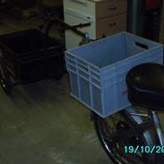 Puch Maxi K m. cykeltrailer